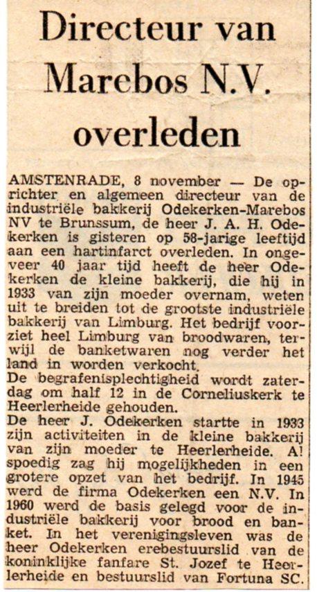 Overlijden Pap Limburgs Dagblad2