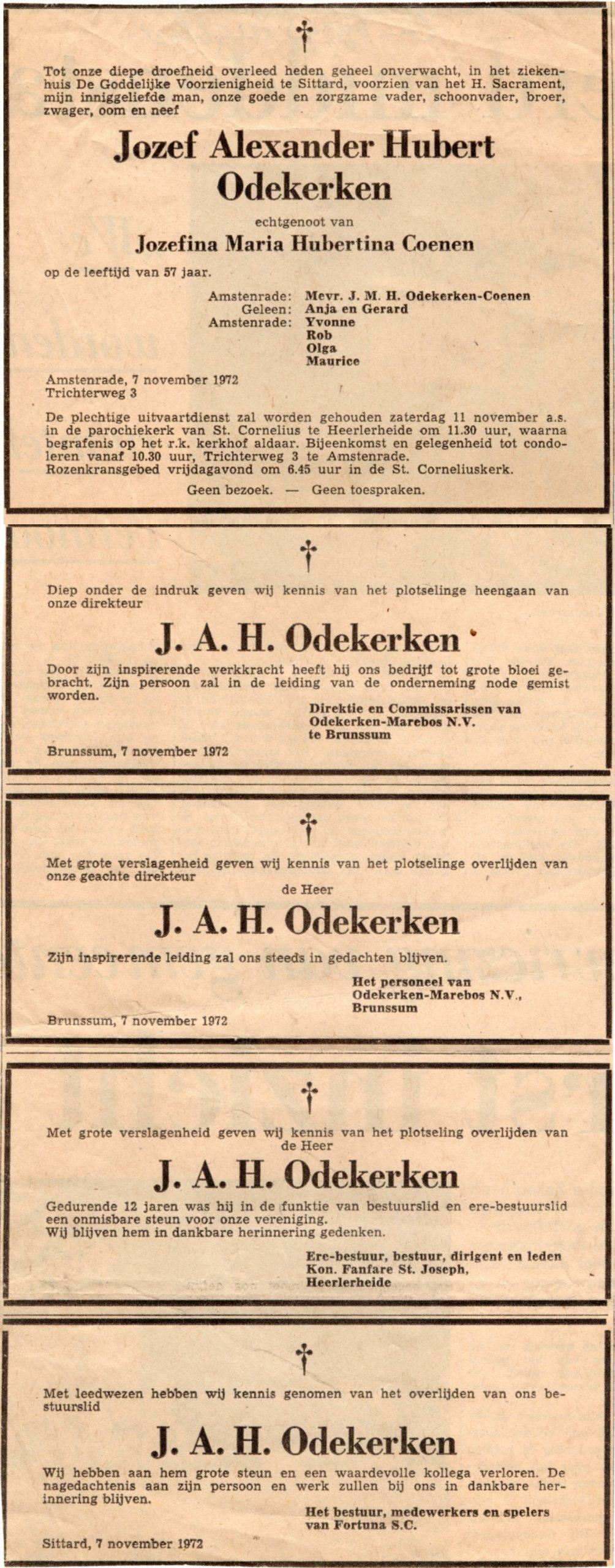Overlijden Pap-Limburgs Dagblad