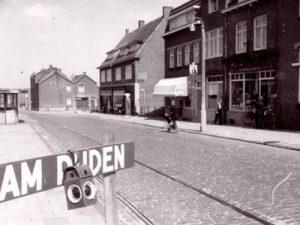 Electrische tram Ganzeweide .