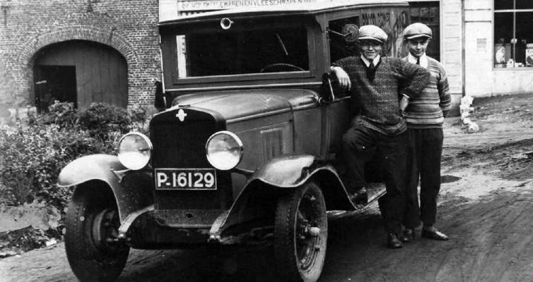 Eerste Bestelwagen